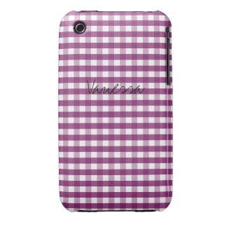 Sweet Plum Customizable Case-Mate iPhone 3 Case