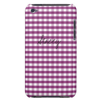 Sweet Plum Customizable iPod Touch Covers