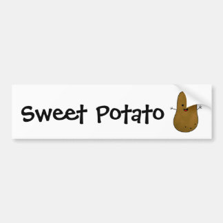 Sweet Potato Bumper Sticker