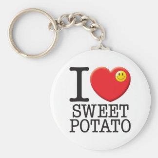 Sweet Potato Key Ring