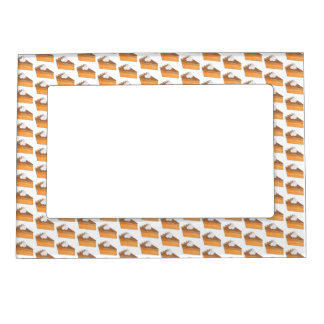 Sweet Potato Pie Thanksgiving Christmas Holiday Magnetic Frame