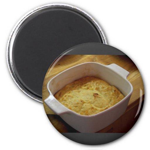 Sweet Potato Souffle Refrigerator Magnet
