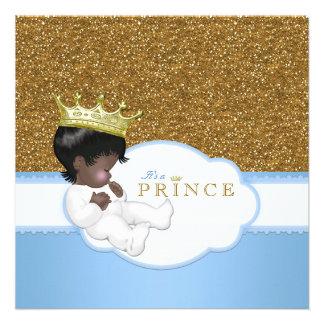 Sweet Prince Ethnic Baby Shower Custom Invites