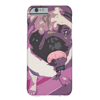 Sweet Pug Cell Phone Case Barely There iPhone 6 Case
