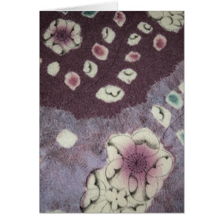 Sweet Purple Kimono Fabric Card