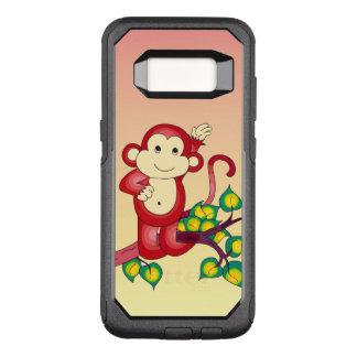 Sweet Red Monkey Animal OtterBox Galaxy S8 Case