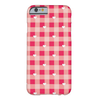 Sweet Red Valentine's background Barely There iPhone 6 Case