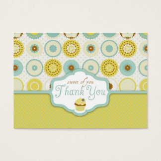 Sweet Retro TY Gift Tag Business Card