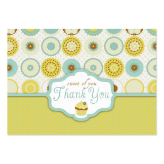 Sweet Retro TY Gift Tag Pack Of Chubby Business Cards