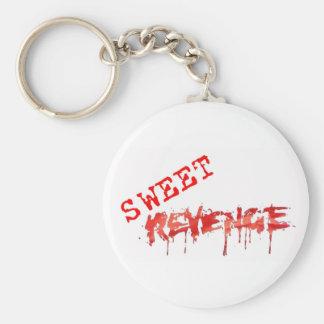 Sweet Revenge Logo Keychain