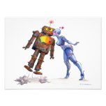 Sweet Robot Love Print Art Photo