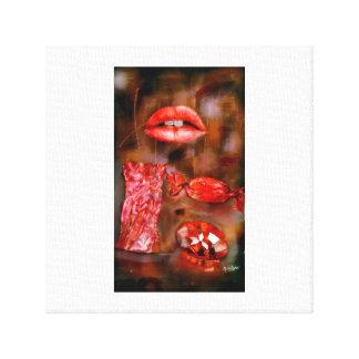 sweet ruby canvas print