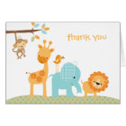 Sweet Safari Note Card