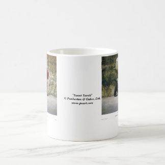 Sweet Sarah Basic White Mug