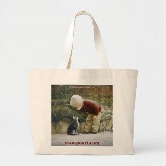 Sweet Sarah Jumbo Tote Bag