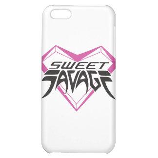 Sweet Savage logo iPhone 4 case