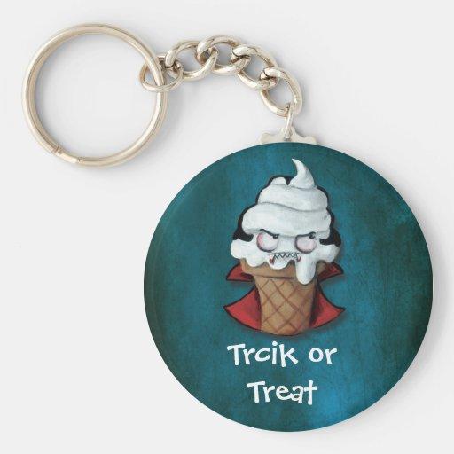Sweet Scary Ice Cream Vampire Keychain
