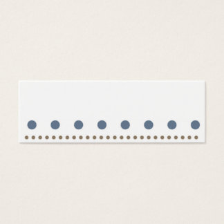 sweet scores pünktchen polka dots dabs mini business card