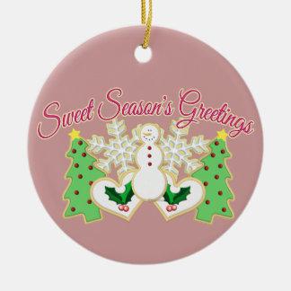 Sweet Season's Greetings Ornament