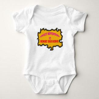Sweet Seventeen 17in memory High Scholl Baby Bodysuit