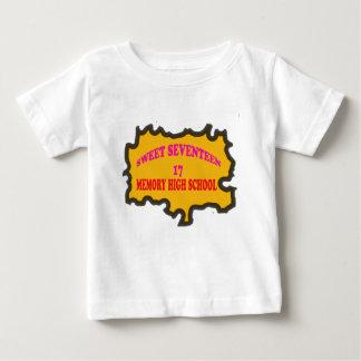 Sweet Seventeen 17in memory High Scholl Baby T-Shirt