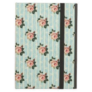 Sweet Shabby Chic Roses Vintage Floral iPad Air Cover