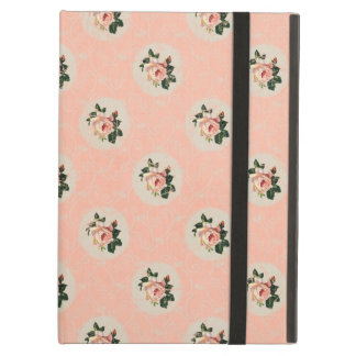 Sweet Shabby Chic Soft Pink Rose Vintage Floral iPad Air Cover