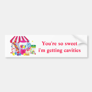 Sweet Shoppe Bumper Sticker