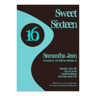 Sweet Sixteen 16th Birthday Party Invitations