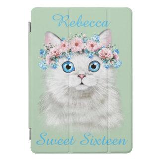Sweet Sixteen Birthday Cute Kitten iPad Pro Cover