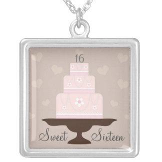 """Sweet Sixteen"" Birthday Keepsake Necklace"