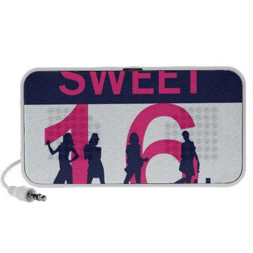 Sweet Sixteen Birthday PC Speakers