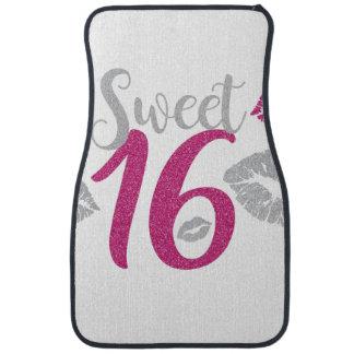 sweet-sixteen car mat
