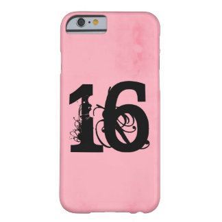 Sweet Sixteen Barely There iPhone 6 Case
