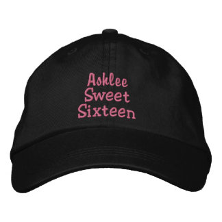 Sweet Sixteen Custom Name V31 Embroidered Hat
