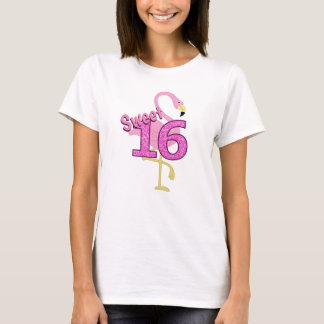 Sweet Sixteen Flamingo T-Shirt