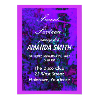 Sweet Sixteen Invitation Jewels