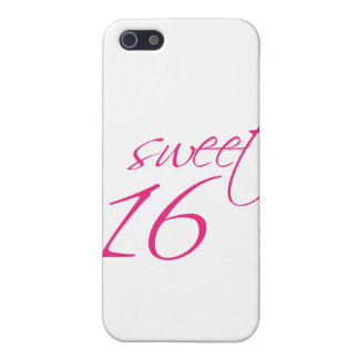 Sweet Sixteen Cover For iPhone 5