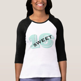 Sweet Sixteen Party 16th Birthday Retro Mint T-Shirt