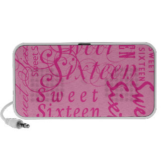 Sweet Sixteen Mp3 Speakers