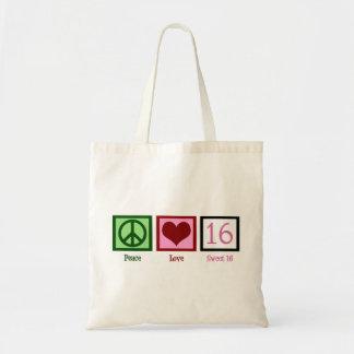 Sweet Sixteen Tote Bag