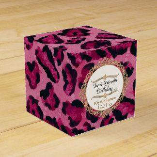 Sweet Sixteenth Birthday Party Celebration Decor Favour Boxes