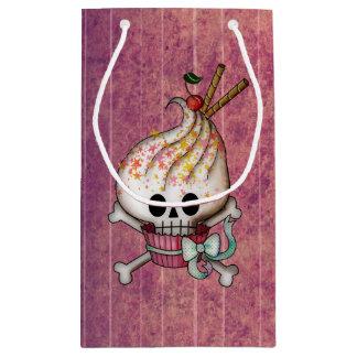 Sweet Skull Cupcake Small Gift Bag