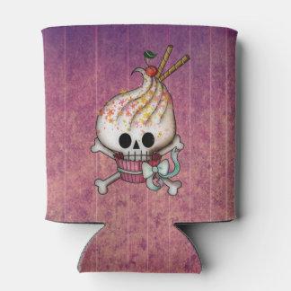 Sweet Skull Cupcake Can Cooler