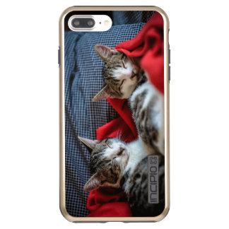 Sweet Sleeping Kitties Incipio DualPro Shine iPhone 8 Plus/7 Plus Case