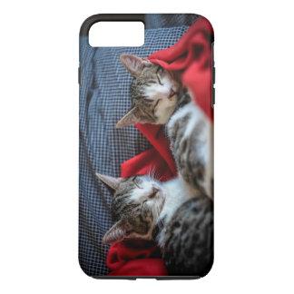 Sweet Sleeping Kitties iPhone 8 Plus/7 Plus Case