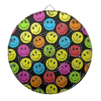 Sweet Smiley Face Dartboard