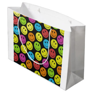 Sweet Smiley Face Large Gift Bag