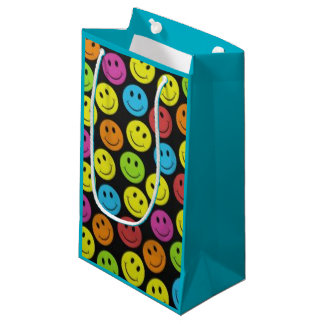 Sweet Smiley Face Small Gift Bag