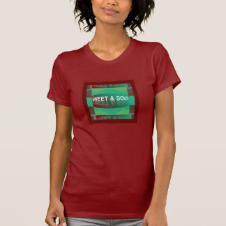 SWEET & SOUR  Shirt for Women-Red/Green